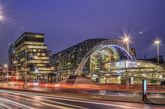 Rotterdam: Ochtendspits op de Blaak