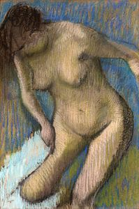 Edgar Degas, Après le bain - 1886
