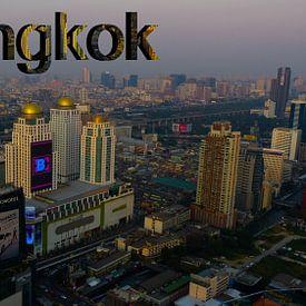 Skyline of Bankgkok von Loraine van der Sande