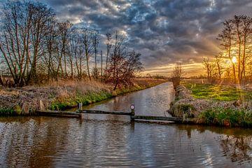 zonsondergang in de polder von Robin Pics (verliefd op Utrecht)