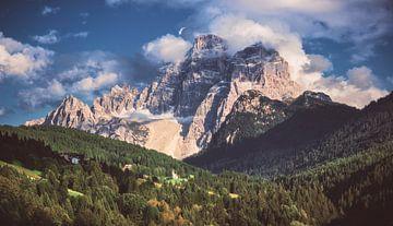 Dolomieten bergpanorama van Jean Claude Castor