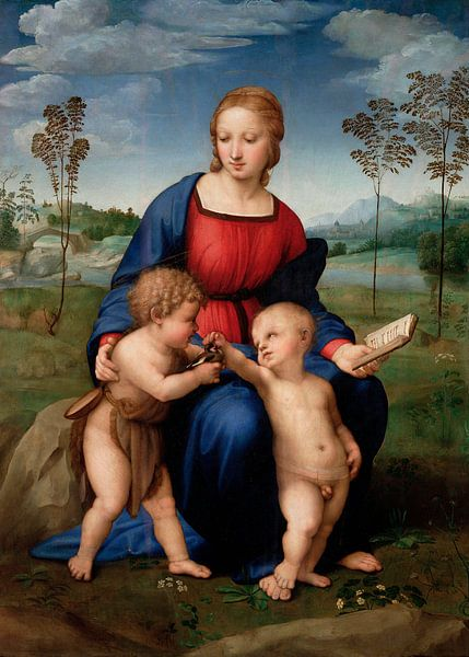 Madonna des Stieglitzers, Rafaël von Meesterlijcke Meesters
