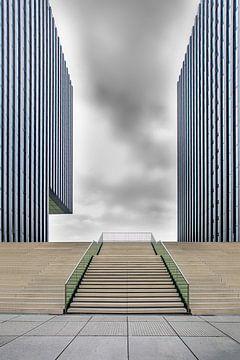 Düsseldorfer Medienhafen von Anita Martin, AnnaPileaFotografie
