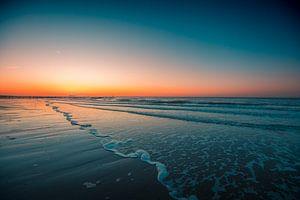 Domburg strand zonsondergang 4 van