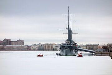 De Aurora, gevangen in ijs van Rinke van Brenkelen