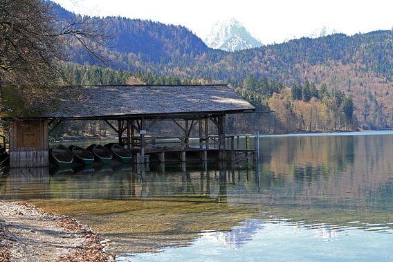 Alpsee in Hohen Schwangau van Gert-Jan Siesling