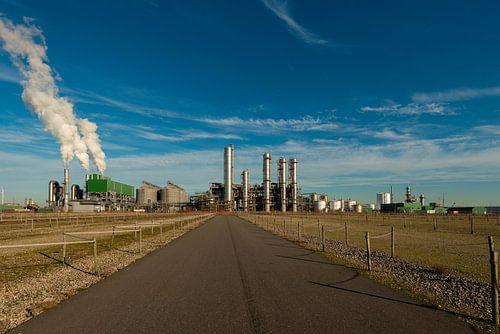 Rotterdam de haven met industrie van