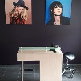 Kundenfoto: Brigitte Bardot Schilderij von Paul Meijering, auf leinwand