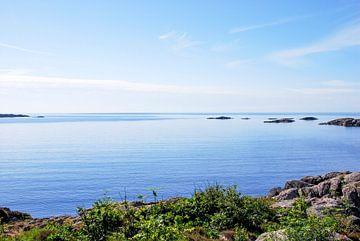 zeezicht in Noorwegen von Marlies Wolfert