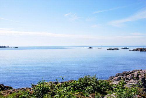 zeezicht in Noorwegen van