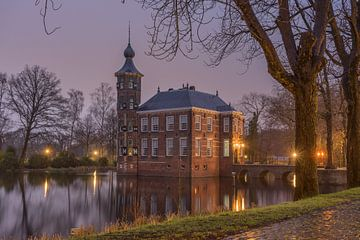 Regenachtige zonsopkomst bij Kasteel Bouvigne, Breda van Rossum-Fotografie