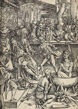 ALBERT DÜRER, Apokalypse - Das Martyrium des Johannes des Evangelisten, 1496