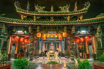Matsu Temple in  Lukang, Taiwan van Sven Wildschut