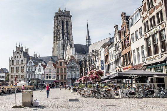 Mechelen in Belgie van Hilda Weges