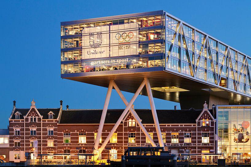 Kantoorgebouw De Brug Rotterdam van Raoul Suermondt