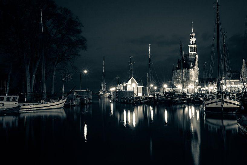Le port de Hoorn sur Kirsten Scholten
