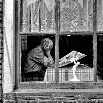 De krant... von Dordrecht van Vroeger