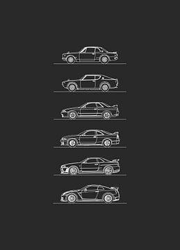 Nissan GT-R Entwicklung von Artlines Design