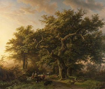 Bosgezicht, Barend Cornelis Koekkoek