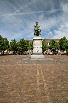 Standbeeld van Willem van Oranje op het Plein in Den Haag van André Muller