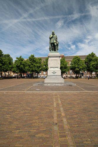 Statue von William von Orange auf dem Plein in Den Haag von