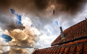 Wolkenlucht  Goeree-Overflakkee van Jaap Reedijk