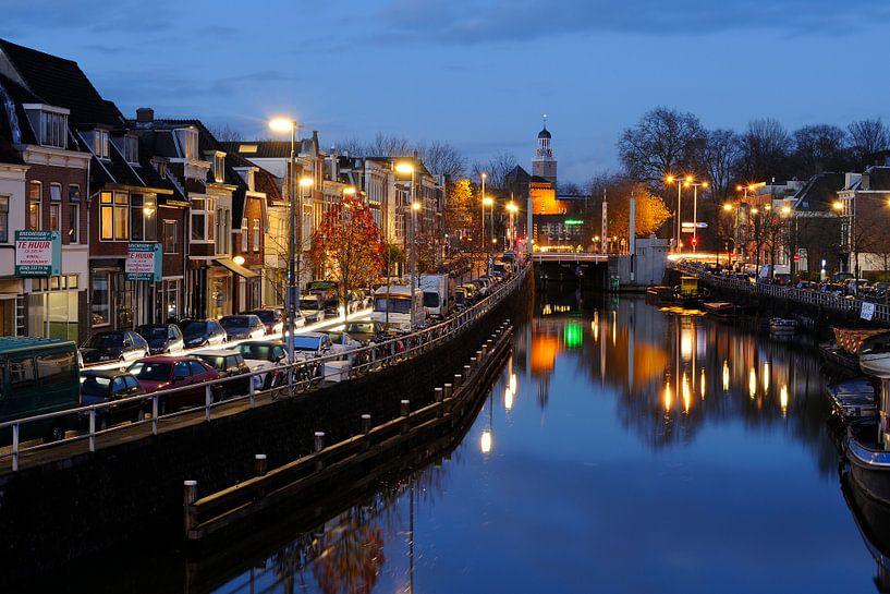 Oosterkade in Utrecht langs Vaartsche Rijn von Donker Utrecht