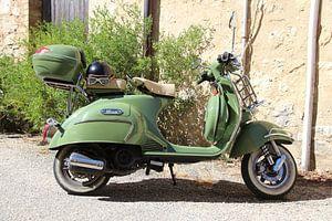 Groene Neco Scooter van