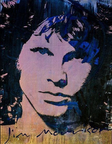 Jim Morrison  van Angelique van den Berg