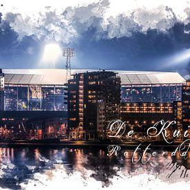 """Feyenoord ART Rotterdam Stadion """"De Kuip"""" Luftbild von MS Fotografie"""