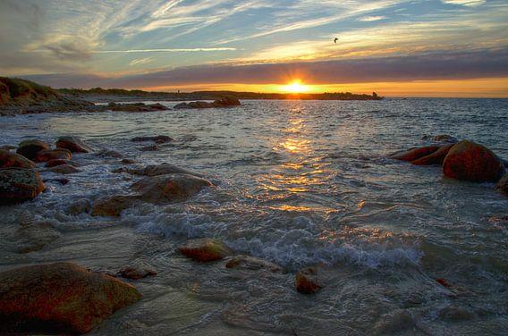Sunset Landrellec in hdr