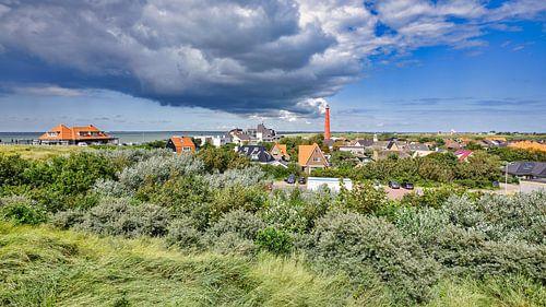 Vuurtoren Den Helder met uitzicht op Huisduinen