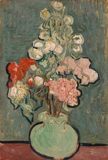 Vincent van Gogh, Vaas met bloemen van 1000 Schilderijen