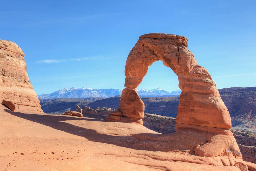 Delicate arch van Fotografie Egmond