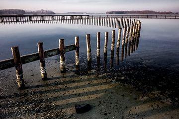 Grote Piet, Veerse meer. von Eddy Westdijk