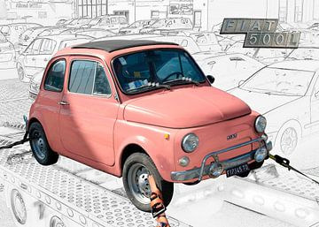 Fiat Nuova 500 L von aRi F. Huber