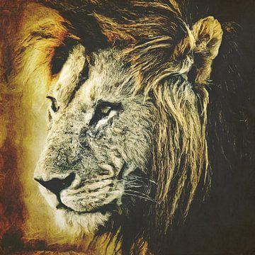 Lion von Angela Dölling