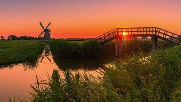 """Zonsondergang bij """"De Zilvermeeuw"""" van Henk Meijer Photography"""