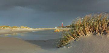 Strand bij de vuurtoren van Ronald Timmer