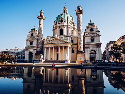 Vienna - Karlskirche van Alexander Voss