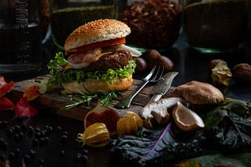 The autumnul hamburger van Alexander Tromp