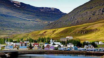 IJsland, Seydisfjordur van Henk Langerak
