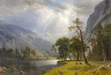 Mount Starr King, Yosemite, Albert Bierstadt