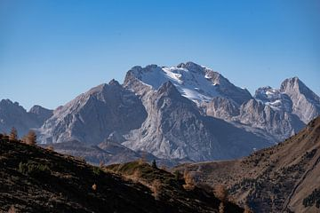 Glacier des Dolomites de Marmolata sur Daniel Kogler