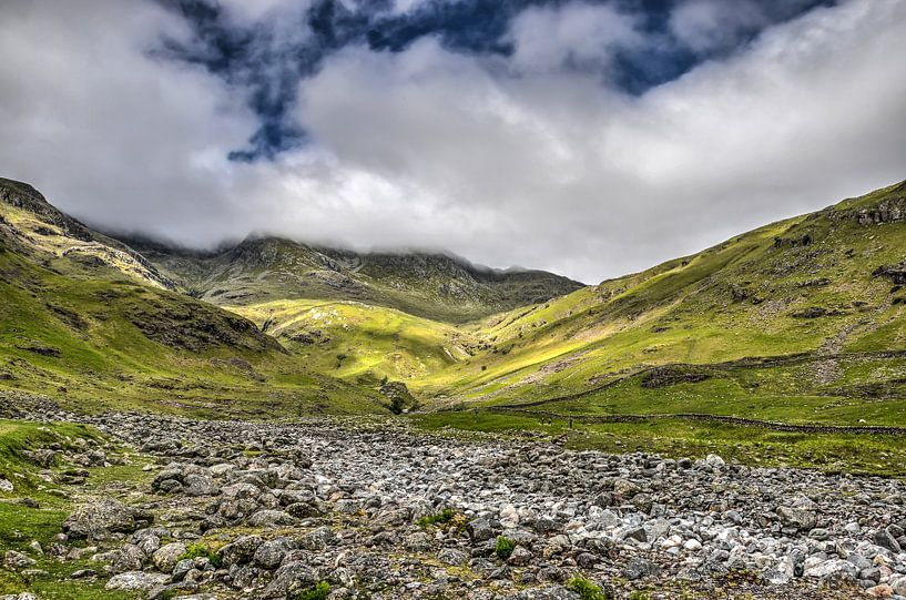 Klimmen in het Lake District van Frans Blok