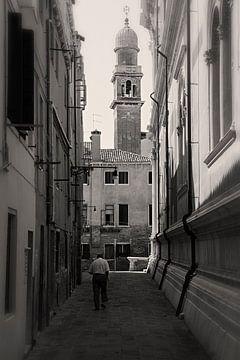 De straten van Venetie, Italie von Jaap van Lenthe