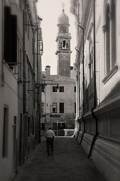 De straten van Venetie, Italie van Jaap van Lenthe