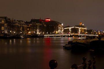 Amsterdam, de Amstel, de Magere brug & Theater Carré van Bert Koppe