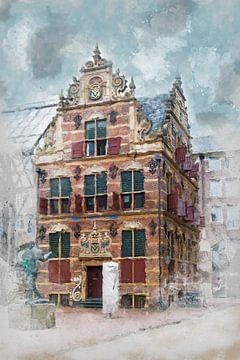 Historisch belastingkantoor Groningen van Harry Stok