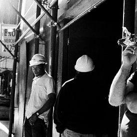 New York Street Life V van Jesse Kraal